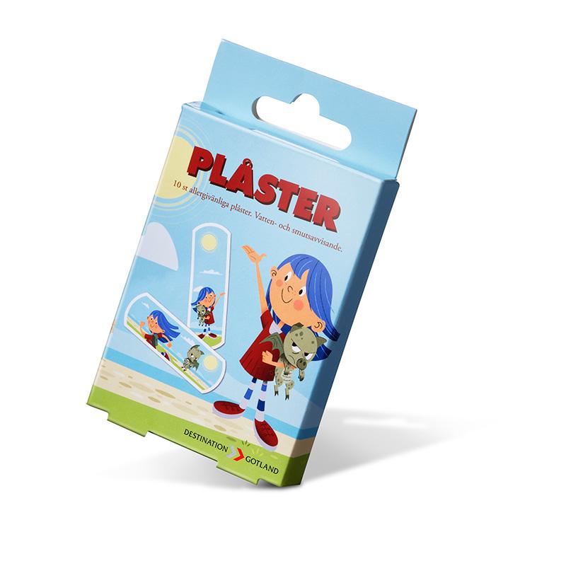 Merchandise - Plåster - Destination Gotland