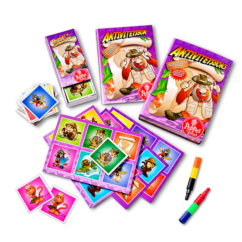 Promotion - Leksaker - Aktivitetsbox